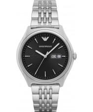 Emporio Armani AR1977 Mens kleden zilveren stalen armband horloge