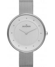Skagen SKW2140 Ladies klassik zilveren mesh horloge