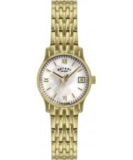 Rotary LB00794-41 Ladies parel vergulde horloge