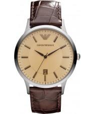 Emporio Armani AR2427 Heren Classic amber bruin horloge