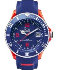 Ice-Watch 001330 Ice-sportieve exclusieve blauwe siliconen band horloge