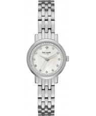 Kate Spade New York KSW1241 Ladies mini monterey zilveren stalen armband horloge