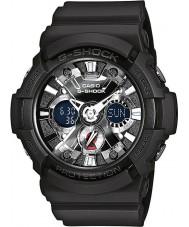 Casio GA-201-1AER Mens G-SHOCK wereld tijd zwart chronograafhorloge