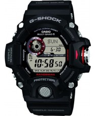 Casio GW-9400-1ER Mens G-SHOCK premium triple sensor radiogestuurde op zonne-energie horloge