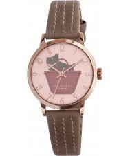 Radley RY2346 Dames grens buideldier en duistere roze riem horloge