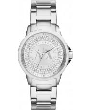 Armani Exchange AX4320 Ladies stedelijk steen zilver set horloge