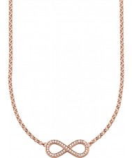 Thomas Sabo KE1312-416-14 Ladies 18k rose goud verguld infinity ketting