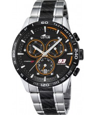 Lotus L18258-2 Mens Marc Márquez two tone stalen chronograaf