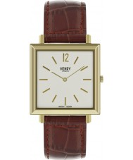 Henry London HL34-QS-0268 Erfgoed horloge