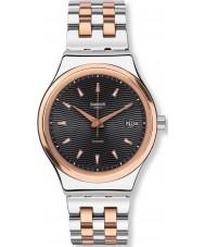 Swatch YIS405G Sistem tux two tone stalen armband horloge
