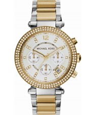 Michael Kors MK5626 Ladies parker two tone stalen chronograaf