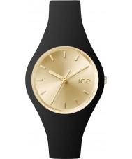 Ice-Watch 001396 Ladies kleine ice-chique zwarte siliconen band horloge