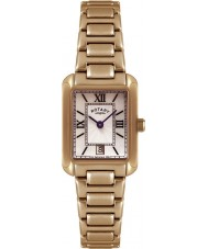 Rotary LB02652-41 Ladies uurwerken verguld horloge