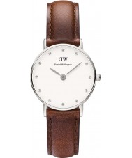 Daniel Wellington DW00100067 Ladies classy st mawes 26mm zilveren horloge