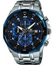 Casio EFR-539D-1A2VUEF Mens gebouw blauw zilver chronograafhorloge
