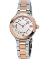 Frederique Constant FC-200WHD1ER32B Ladies klassiekers bekoren two tone stalen armband horloge