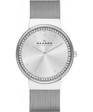 Skagen SKW2152 Ladies klassik zilveren mesh horloge
