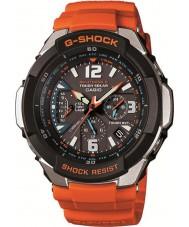 Casio GW-3000M-4AER Mens G-SHOCK radiografisch bestuurbare oranje op zonne-energie horloge