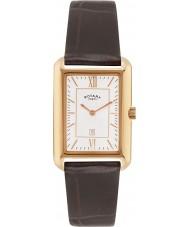 Rotary GS02691-02 Mens uurwerken champagne bruine horloge