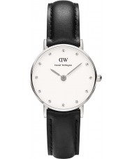 Daniel Wellington DW00100068 Ladies classy Sheffield 26mm zilveren horloge
