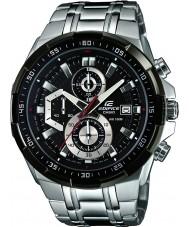 Casio EFR-539D-1AVUEF Mens bouwwerk zwart zilver chronograafhorloge
