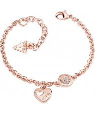 Guess UBB82059-L Dames hart devotie armband