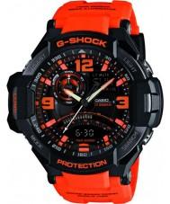Casio GA-1000-4AER Mens G-SHOCK twin sensor neon-verlichting horloge