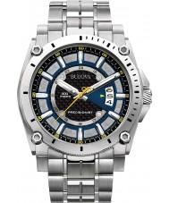 Bulova 96G131 Mens precisionist champlain zilveren horloge