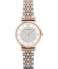 Emporio Armani AR1926 Dames two tone stalen jurk horloge