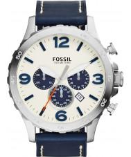 Fossil JR1480 Mens nate marine chronograafhorloge