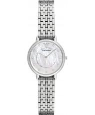 Emporio Armani AR2511 Dames jurk zilveren stalen armband horloge