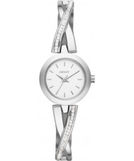 DKNY NY2173 Ladies crosswalk steen zilver set horloge