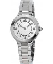 Frederique Constant FC-200WHD1ER36B Ladies klassiekers bekoren zilveren stalen armband horloge