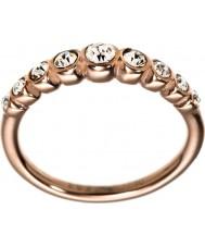 Edblad 2153441919-S Ladies Valence rose goud verguld lijn ring - de grootte n (en)