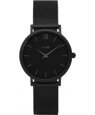 Cluse CL30011 Ladies Minuit mesh horloge