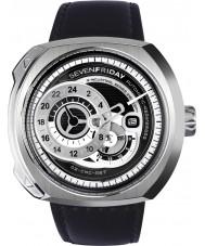 Sevenfriday Q1-01 Industriële motor horloge