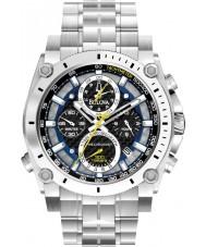 Bulova 96G175 Mens precisionist zilveren stalen armband chronograaf