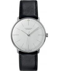 Junghans 027-3501-00 Max Bill Black automatisch horloge