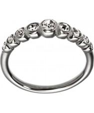 Edblad 2153441920-XS Ladies valentie glanzende stalen lijn ring - maat L (xs)