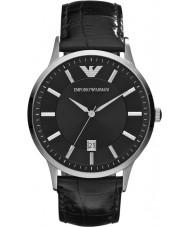 Emporio Armani AR2411 Mens klassiek zwart horloge