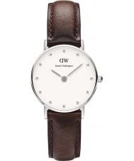 Daniel Wellington DW00100070 Ladies classy Bristol 26mm zilveren horloge