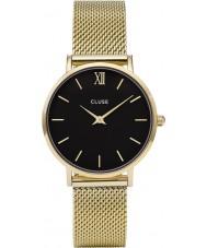 Cluse CL30012 Ladies Minuit mesh horloge