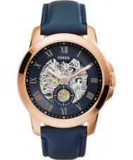 Fossil ME3054 Mens verlenen marine leder automatisch horloge