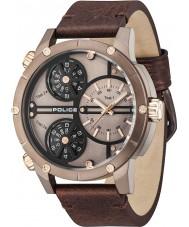 Police 14699JSBN-12 Mens ratelslang horloge