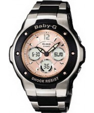 Casio MSG-300C-1BER Ladies Baby-G dual LED-display horloge