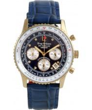 Krug-Baumen 400207DS Luchtreiziger diamant blauwe wijzerplaat blauwe band
