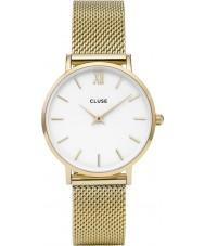 Cluse CL30010 Ladies Minuit mesh horloge