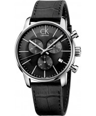 Calvin Klein K2G271C3 Mens stad zwarte chronograaf horloge