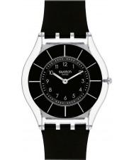Swatch SFK361 Skin - Zwart classiness horloge