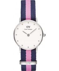 Daniel Wellington DW00100073 Ladies classy winchester 26mm zilveren horloge
